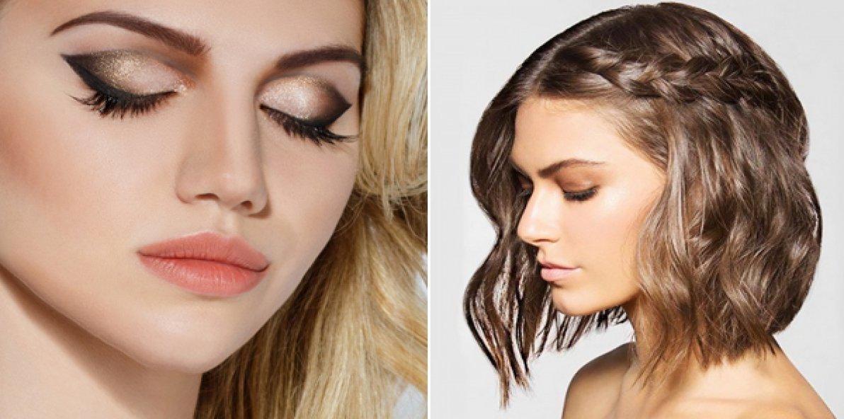 уроки макияжа и прически фото