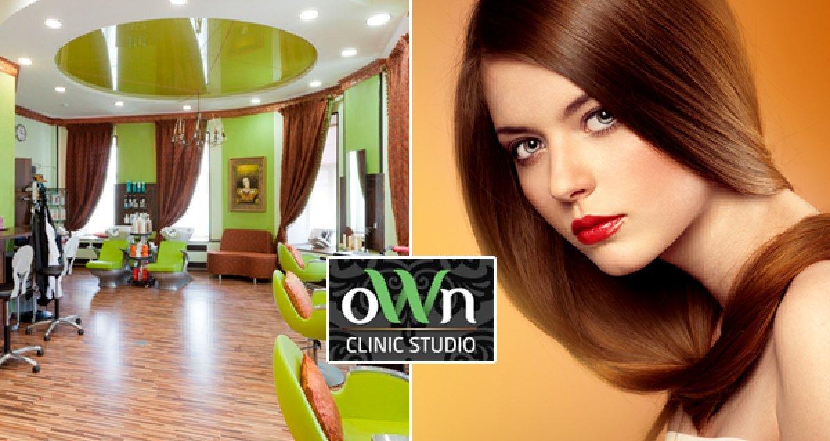-70% на парикмахерские услуги в OWN Clinic Studio