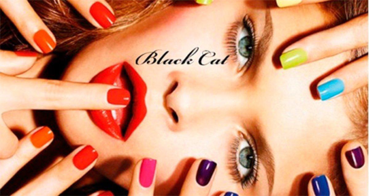 -85% на услуги салона красоты Black Cat