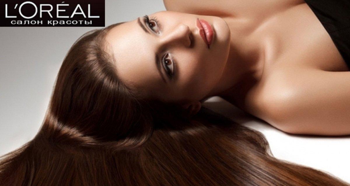 -88% на парикмахерские услуги в студии L'OREAL