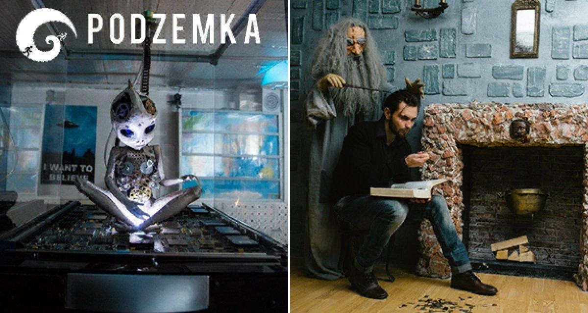 -44% на квесты от компании Podzemka