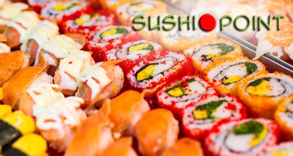 -50% на все от доставки Sushi Point