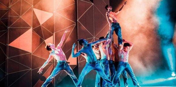 -50% на танцевальное 3D шоу Elements