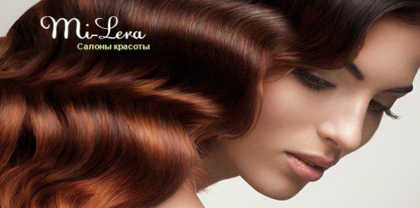 -80% на услуги для волос в салоне «Ми-Лера»