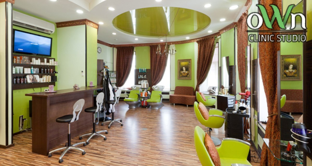 -74% на услуги для волос в OWN Clinic Studio