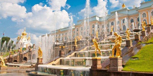 -40% на тур «Секреты фонтанов Петергофа»