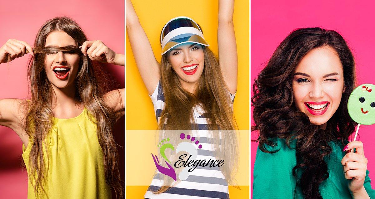 До -75% на уход за волосами в Elegance