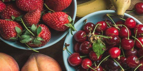 До -30% на сезонные ягоды и свежие фрукты!
