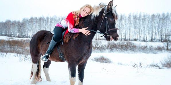 -74% на конные прогулки, фотосессию в Марфино