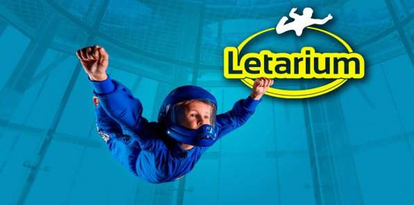 -50% на полет в аэротрубе от комплекса «Летариум»