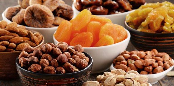 -20% на орехи и сухофрукты