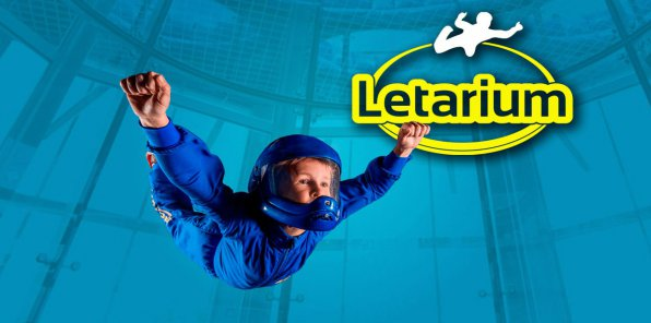 -55% на полет в аэротрубе от комплекса «Летариум»