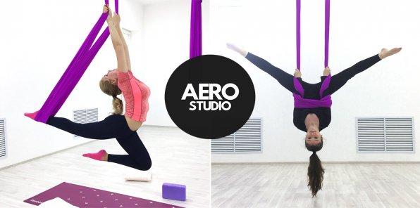 -50% на занятия в студии растяжки и фитнеса AEROSTUDIO