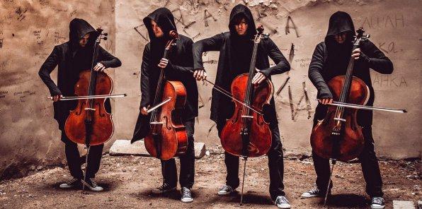 -30% на концерт «Мировые рок-хиты на виолончелях»