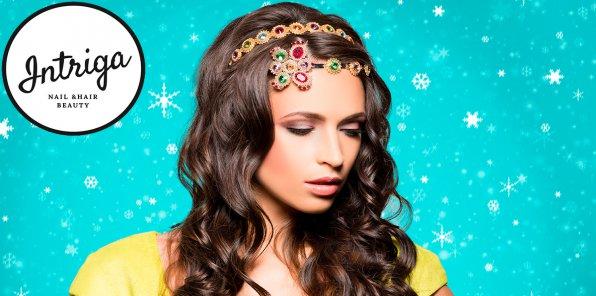 -75% на услуги для волос в салоне «Интрига»