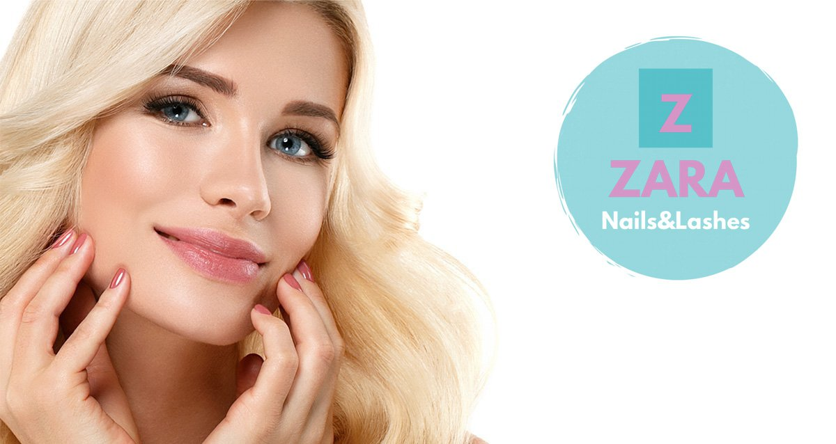 -74% на наращивание ресниц в студии красоты ZARA Nails&Lashes