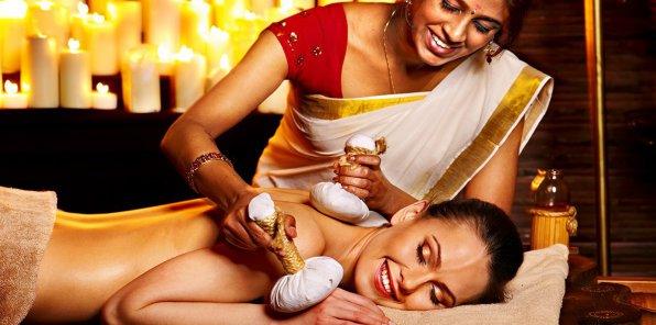 До -65% на индийский, аюрведический массаж и SPA