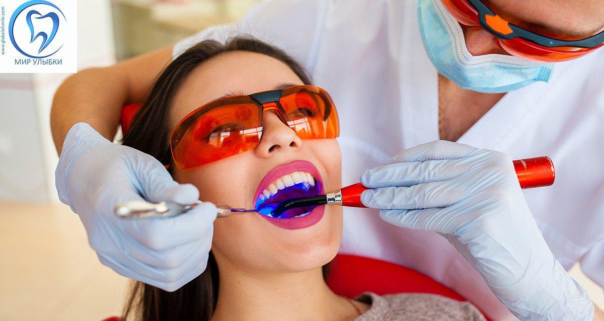 До -82% в стоматологии «Мир улыбки»