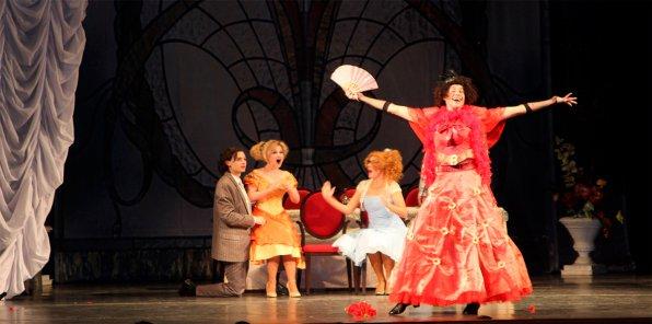 -50% на билеты на оперетту «Здрасьте, я ваша тетя!»