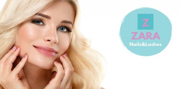 До -74% на наращивание ресниц в студии ZARA Nails&Lashes