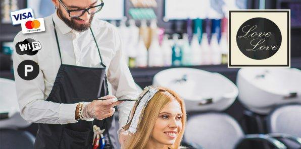 До -77% на услуги для волос в салоне Love&Love на Тверской