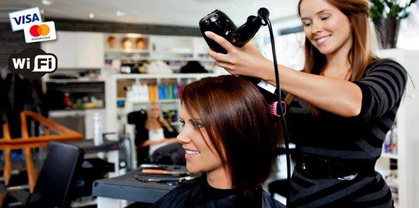 До -80% на услуги для волос в 2-х салонах