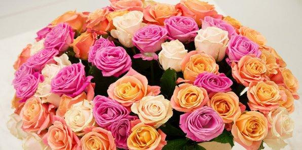 Скидки до 70% на розы из Эквадора, Кении и России
