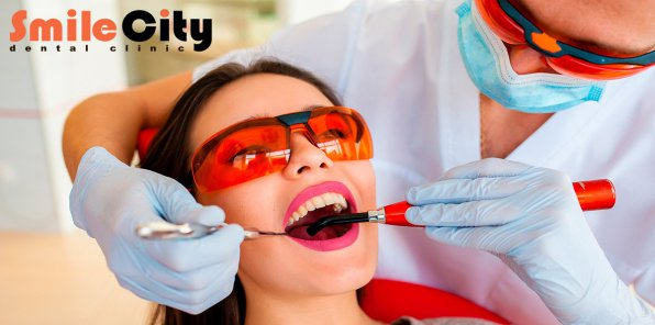 Скидки до 100% на услуги стоматологии «Смайл Сити»