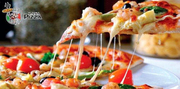Скидка 50% на пироги и пиццу от доставки «Лана Пицца»
