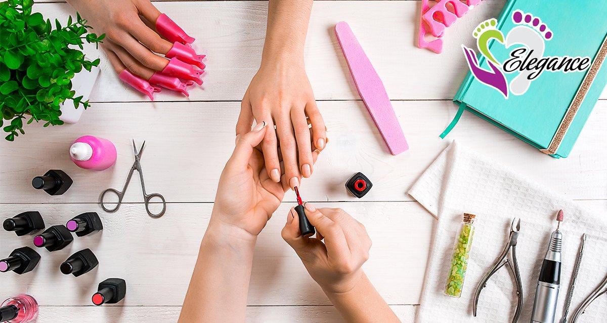 Скидки до 77% на ногтевой сервис в центре ELEGANCE