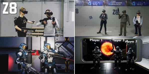 Скидки до 75% в клубе виртуальной реальности Z8park