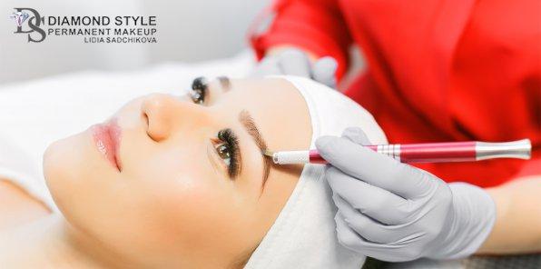 Скидка 80% на перманентный макияж в салоне Diamond Style