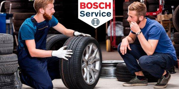 Скидки до 100% на услуги автосервиса Bosch