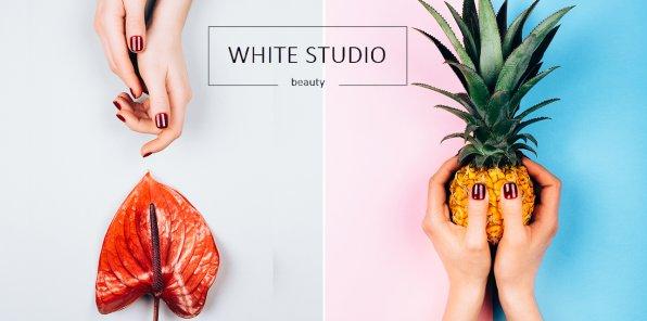 Скидки до 58% на маникюр в студии WHITE STUDIO