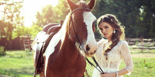 Скидки до 74% на конные прогулки, фотосессию в Марфино
