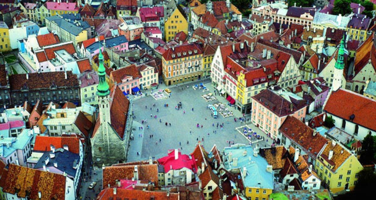 Уютный и гостеприимный городок Таллин!