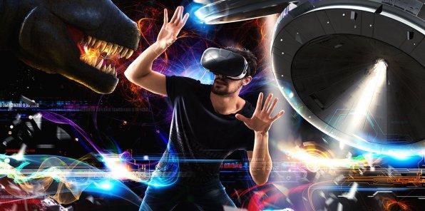 Скидка 57% от клуба виртуальной реальности VR-GO