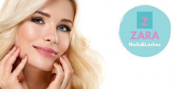 Скидки до 74% на наращивание ресниц в ZARA Nails&Lashes