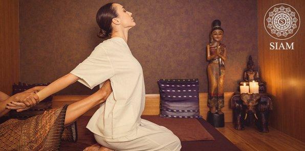 Скидки до 56% на массаж и SPA в салоне тайского массажа SIAM