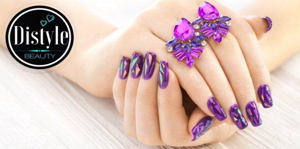Скидки до 70% на ногтевой сервис в салоне красоты DISTYLE