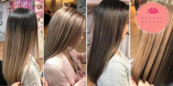 Скидки до 75% на парикмахерские услуги в салоне «Ариана»