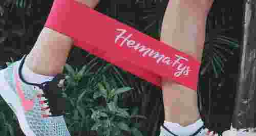 Построй тело с фитнес-резинкой