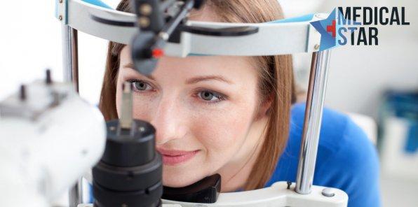 Скидки до 100% на офтальмологическое обследование