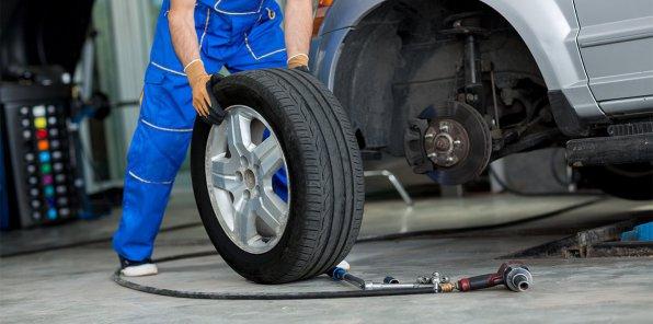 Скидки до 67% на ремонт дисков и шиномонтаж