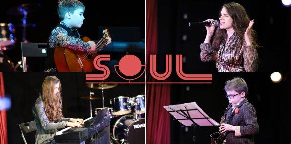 Скидки до 65% на занятия в музыкальной школе-студии «Соул»
