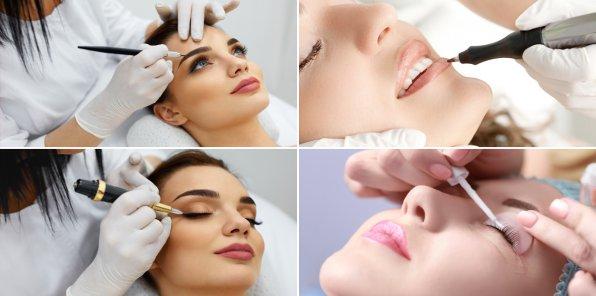 Скидки до 85% на макияж, татуаж, услуги для бровей и ресниц