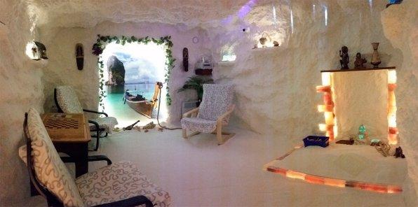 Скидки до 44% на соляную пещеру