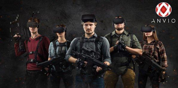 Скидки до 30% на игру на аттракционе ANVIO VR