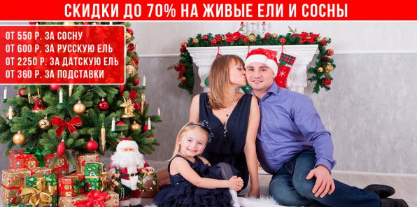 Магазин живых елок ruelki.ru