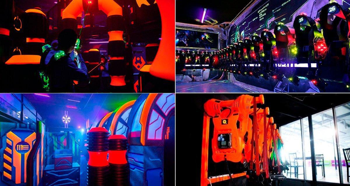 Скидки до 33% на аренду зала и игру лазертаг Q-ZAR